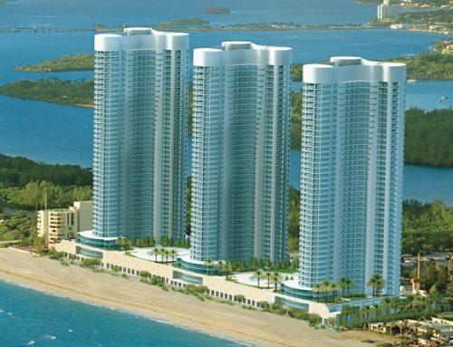 Miami – Collins Avenue – Trump Towers